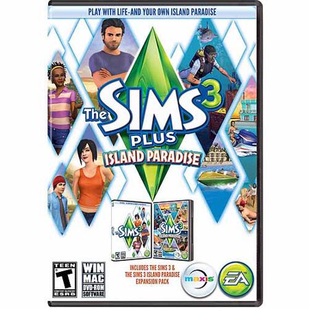 lazy game reviews sims 3 island paradise