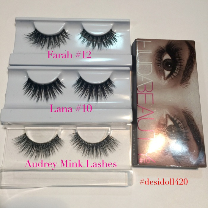 huda beauty farah lashes review