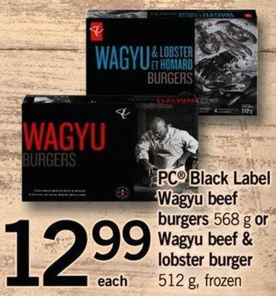 pc wagyu lobster burgers review