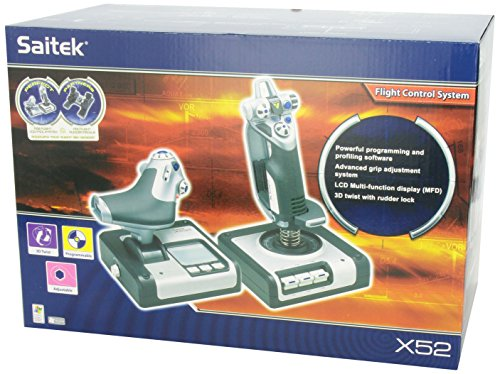 saitek x52 pro flight control system for pc review