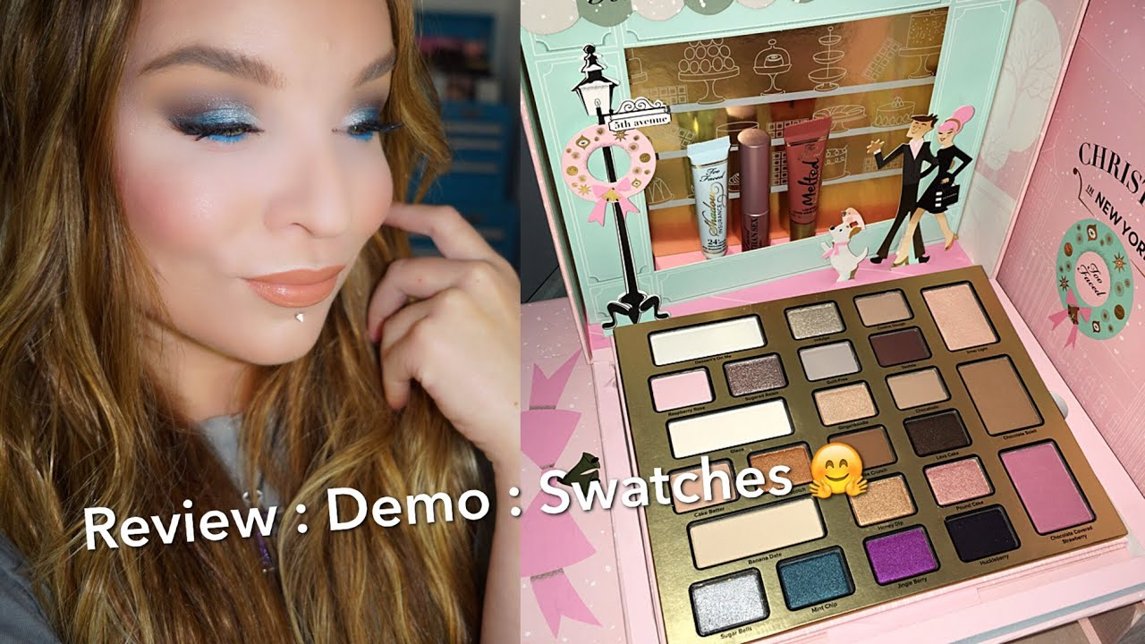 too faced christmas in new york review