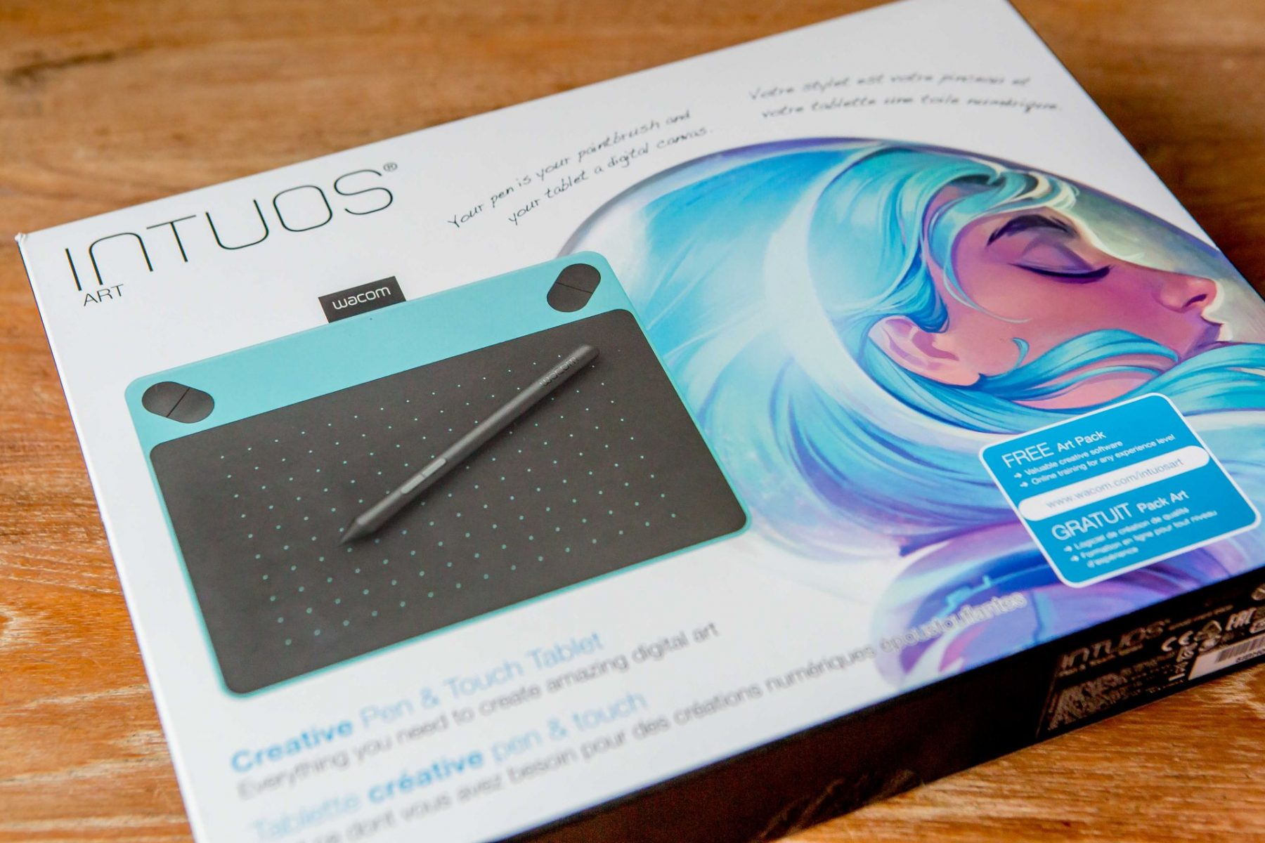 wacom intuos draw pen tablet review