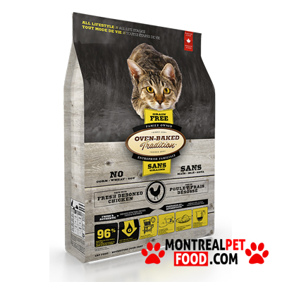 oven baked cat food reviews