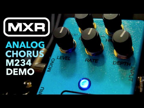 mxr m234 analog chorus review