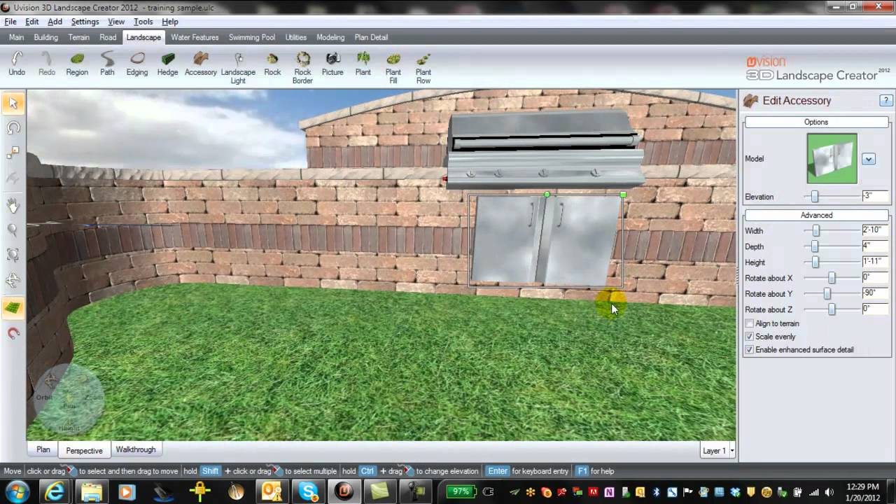 uvision 3d landscape creator review