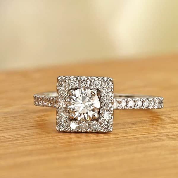 lab created diamond engagement ring reviews