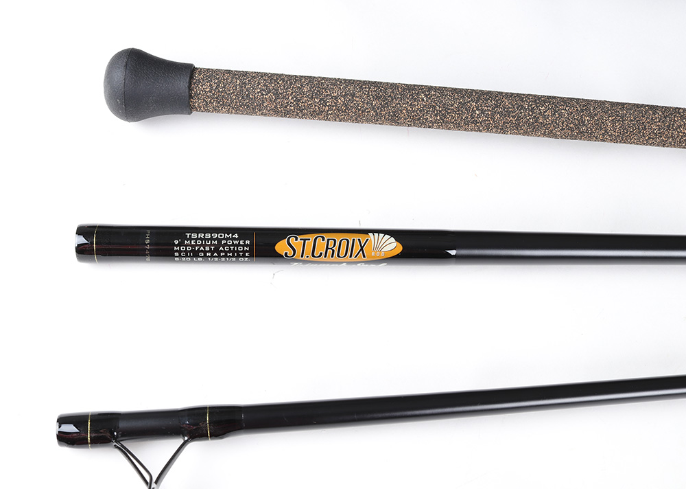 st croix triumph surf rod review