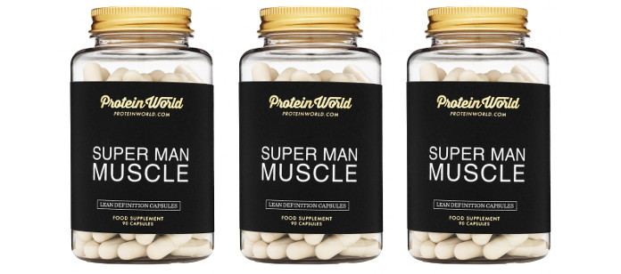 protein world superman muscle review