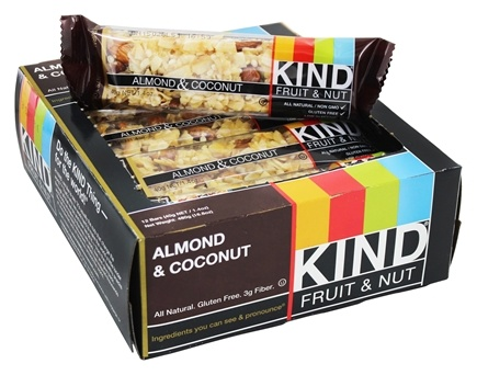 kind bar almond coconut review