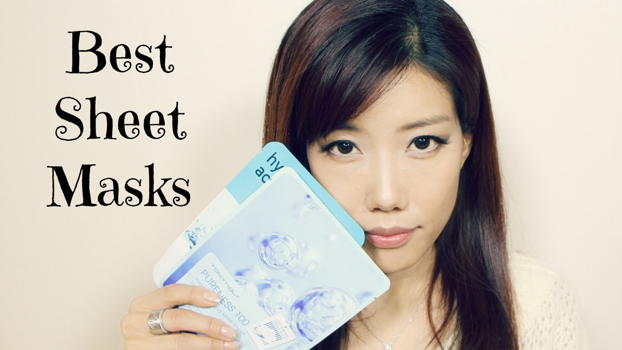 korean face mask sheets review