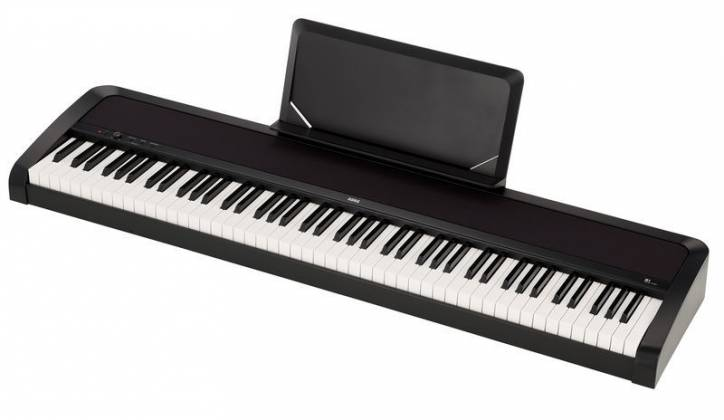 korg b1 88 key digital piano review