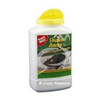 shake away rodent repellent granules review