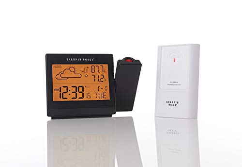 sharper image projection alarm clock reviews