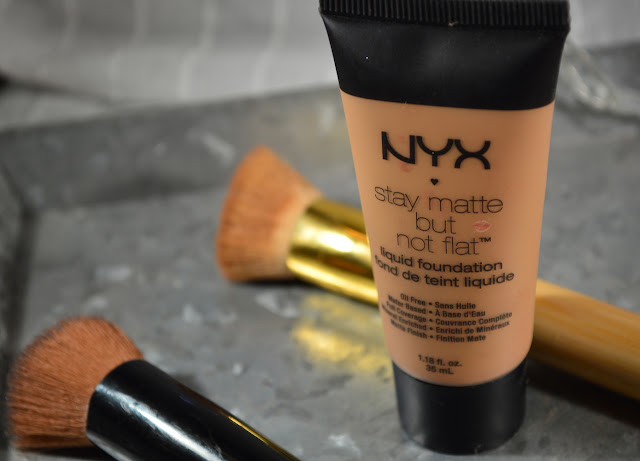 stay matte but not flat liquid foundation review
