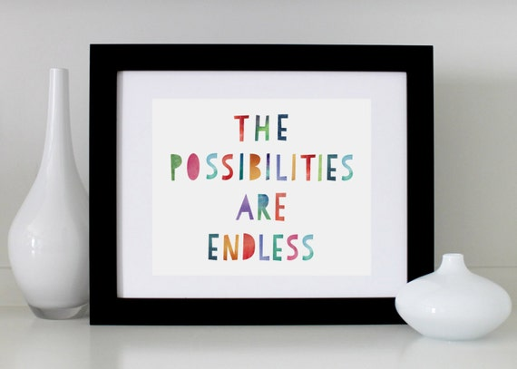 the possibilities are endless review